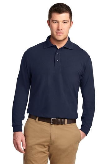 Performance Blend Polo - Navy